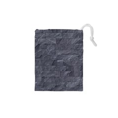 Excellent Seamless Slate Stone Floor Texture Drawstring Pouches (xs)