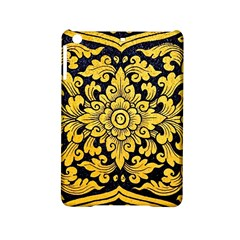 Flower Pattern In Traditional Thai Style Art Painting On Window Of The Temple Ipad Mini 2 Hardshell Cases