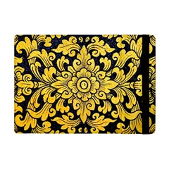 Flower Pattern In Traditional Thai Style Art Painting On Window Of The Temple Ipad Mini 2 Flip Cases