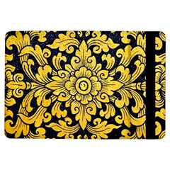 Flower Pattern In Traditional Thai Style Art Painting On Window Of The Temple iPad Air Flip