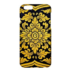 Flower Pattern In Traditional Thai Style Art Painting On Window Of The Temple Apple Iphone 6 Plus/6s Plus Hardshell Case