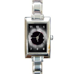 Solar Eclipse Rectangle Italian Charm Watch