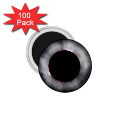 Solar Eclipse 1.75  Magnets (100 pack)