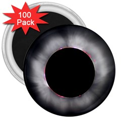 Solar Eclipse 3  Magnets (100 pack)