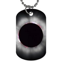 Solar Eclipse Dog Tag (one Side)