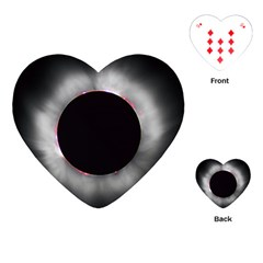 Solar Eclipse Playing Cards (heart)
