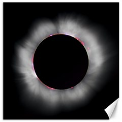 Solar Eclipse Canvas 16  X 16