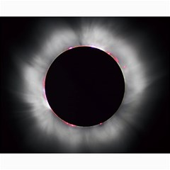 Solar Eclipse Canvas 16  X 20