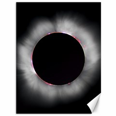 Solar Eclipse Canvas 36  X 48
