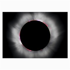 Solar Eclipse Large Glasses Cloth