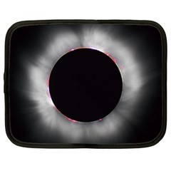 Solar Eclipse Netbook Case (large)