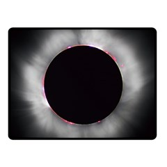 Solar Eclipse Fleece Blanket (small)
