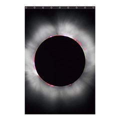 Solar Eclipse Shower Curtain 48  X 72  (small)