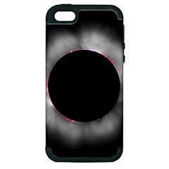 Solar Eclipse Apple Iphone 5 Hardshell Case (pc+silicone)
