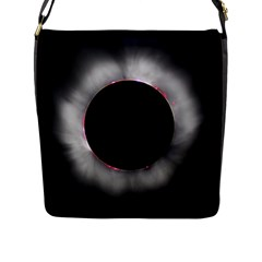 Solar Eclipse Flap Messenger Bag (l)