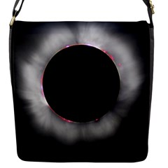 Solar Eclipse Flap Messenger Bag (s)