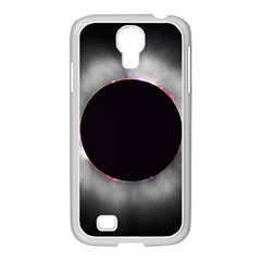 Solar Eclipse Samsung Galaxy S4 I9500/ I9505 Case (white)