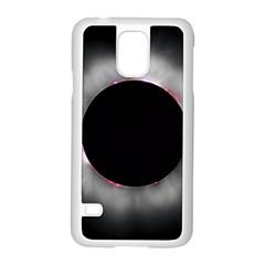 Solar Eclipse Samsung Galaxy S5 Case (white)