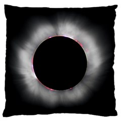 Solar Eclipse Standard Flano Cushion Case (two Sides)