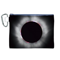 Solar Eclipse Canvas Cosmetic Bag (XL)