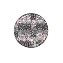 Sribble Plaid Hat Clip Ball Marker (10 Pack)