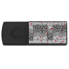 Sribble Plaid Usb Flash Drive Rectangular (4 Gb)