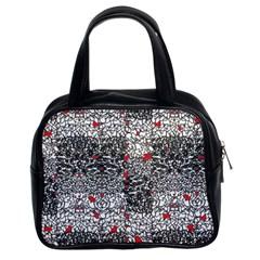Sribble Plaid Classic Handbags (2 Sides)