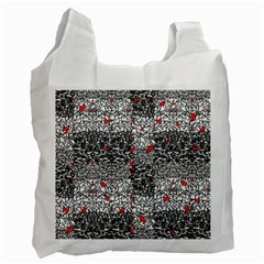Sribble Plaid Recycle Bag (two Side)