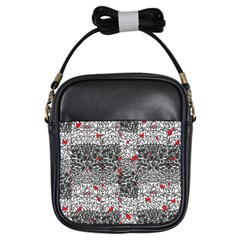 Sribble Plaid Girls Sling Bags