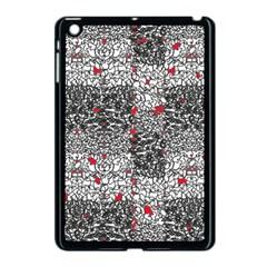 Sribble Plaid Apple iPad Mini Case (Black)
