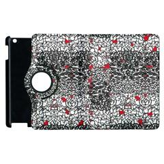 Sribble Plaid Apple iPad 2 Flip 360 Case