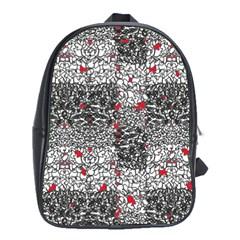 Sribble Plaid School Bags (xl)