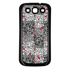 Sribble Plaid Samsung Galaxy S3 Back Case (black)