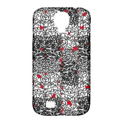 Sribble Plaid Samsung Galaxy S4 Classic Hardshell Case (pc+silicone)