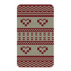 Stitched Seamless Pattern With Silhouette Of Heart Memory Card Reader