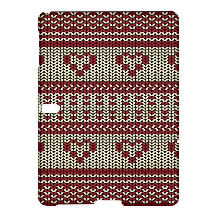 Stitched Seamless Pattern With Silhouette Of Heart Samsung Galaxy Tab S (10.5 ) Hardshell Case