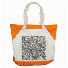 Zentangle Art Patterns Accent Tote Bag