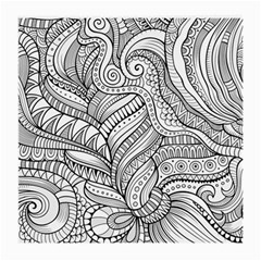 Zentangle Art Patterns Medium Glasses Cloth (2 Side)