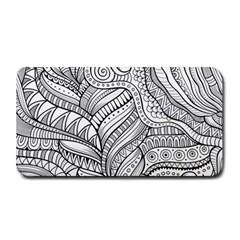 Zentangle Art Patterns Medium Bar Mats