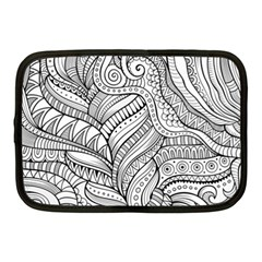 Zentangle Art Patterns Netbook Case (medium)
