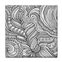 Zentangle Art Patterns Face Towel