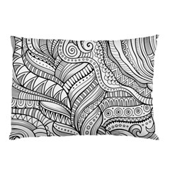 Zentangle Art Patterns Pillow Case