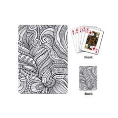 Zentangle Art Patterns Playing Cards (mini)