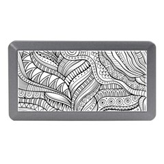 Zentangle Art Patterns Memory Card Reader (mini)