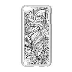 Zentangle Art Patterns Apple Ipod Touch 5 Case (white)