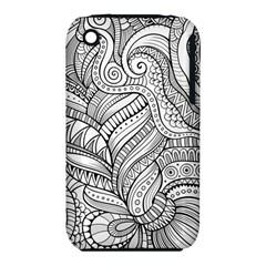 Zentangle Art Patterns Iphone 3s/3gs