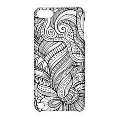 Zentangle Art Patterns Apple Ipod Touch 5 Hardshell Case With Stand