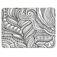 Zentangle Art Patterns Samsung Galaxy Tab 7  P1000 Flip Case