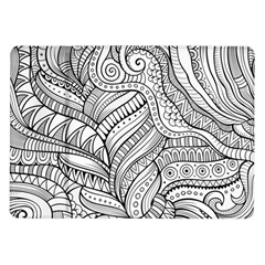 Zentangle Art Patterns Samsung Galaxy Tab 10.1  P7500 Flip Case