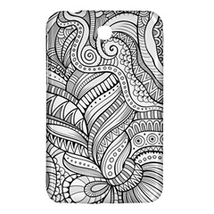Zentangle Art Patterns Samsung Galaxy Tab 3 (7 ) P3200 Hardshell Case